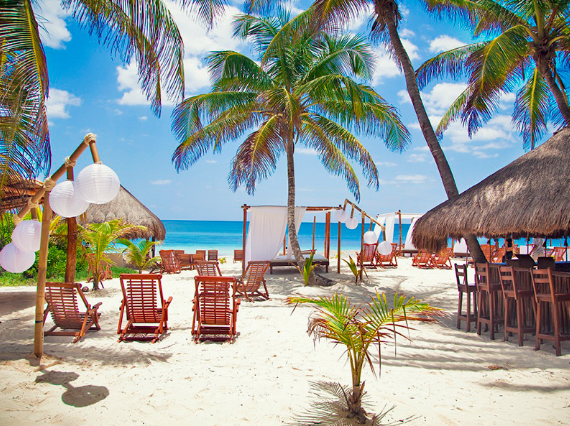 Unforgettable beaches in Mexico. #tulum