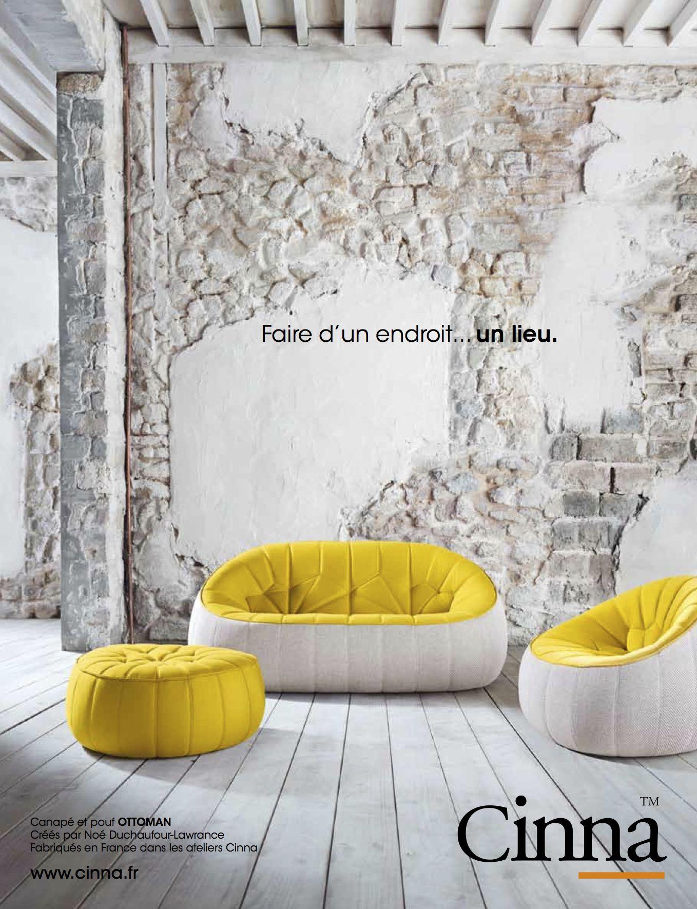 Publicité Cinna 2014 | ∞ Intérieurs | Pinterest