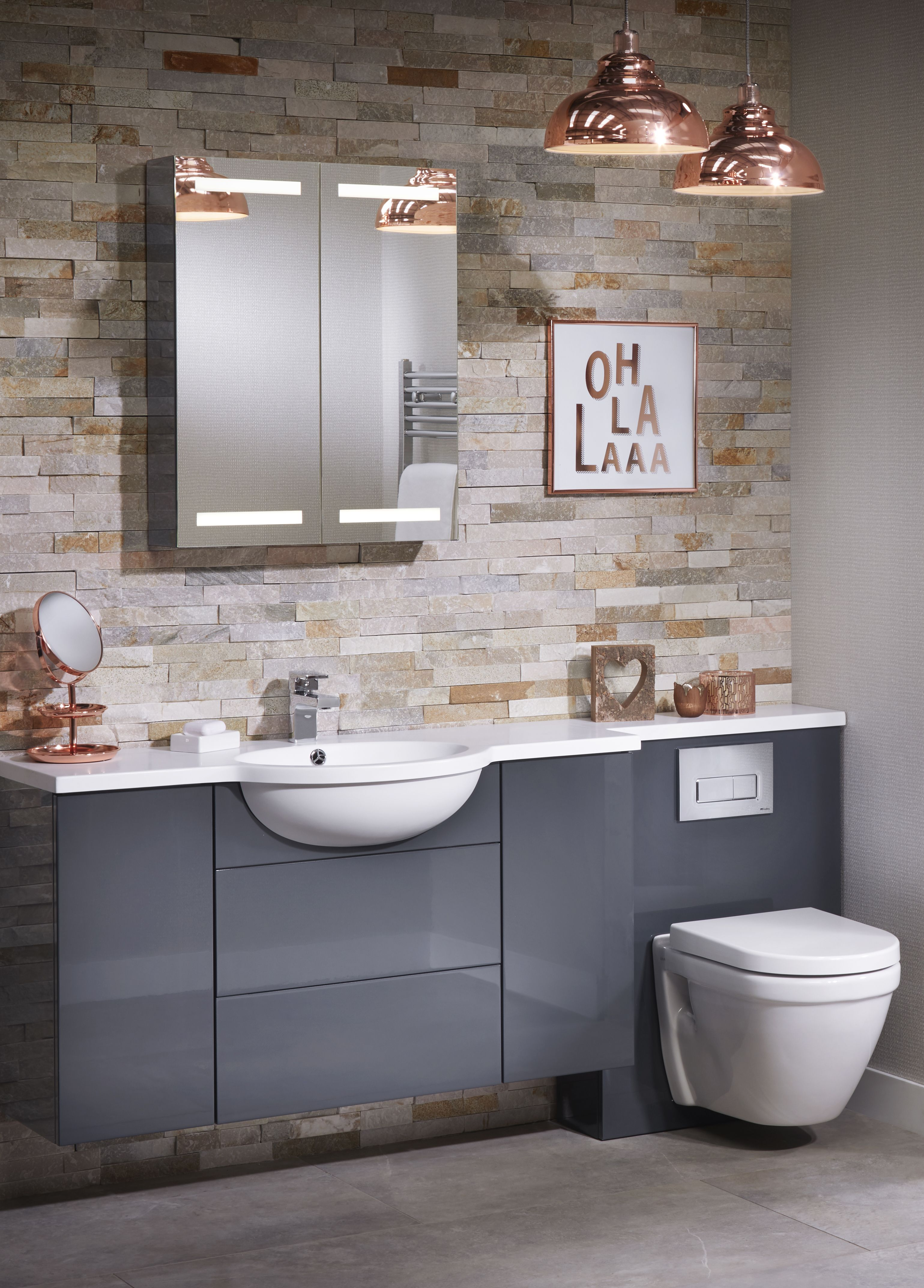Oh La La indeed! Striking Grey furniture looks sensational with