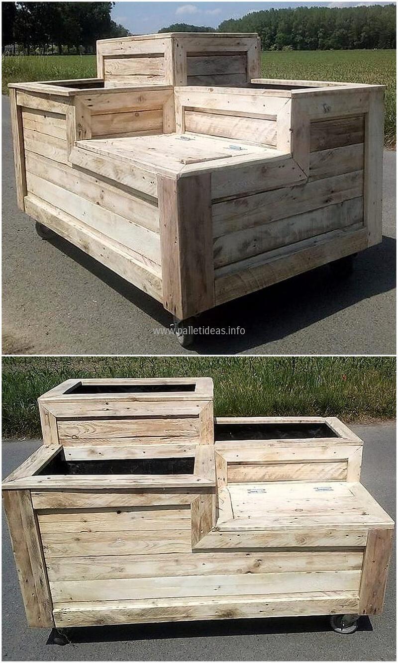 stunning diy ideas for wooden pallets reusing | pallets, wooden