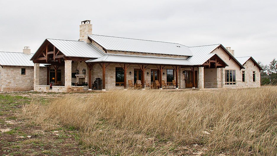 Timber Frame Home Hybrid In Hill Country Project Texas Hill Country House Plans Hill Country Homes Country House Design