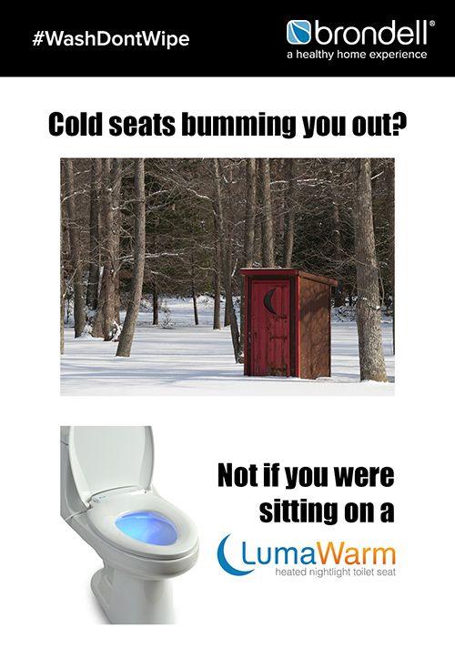 Lumawarm Heated Nightlight Toilet Seat With Images Heated