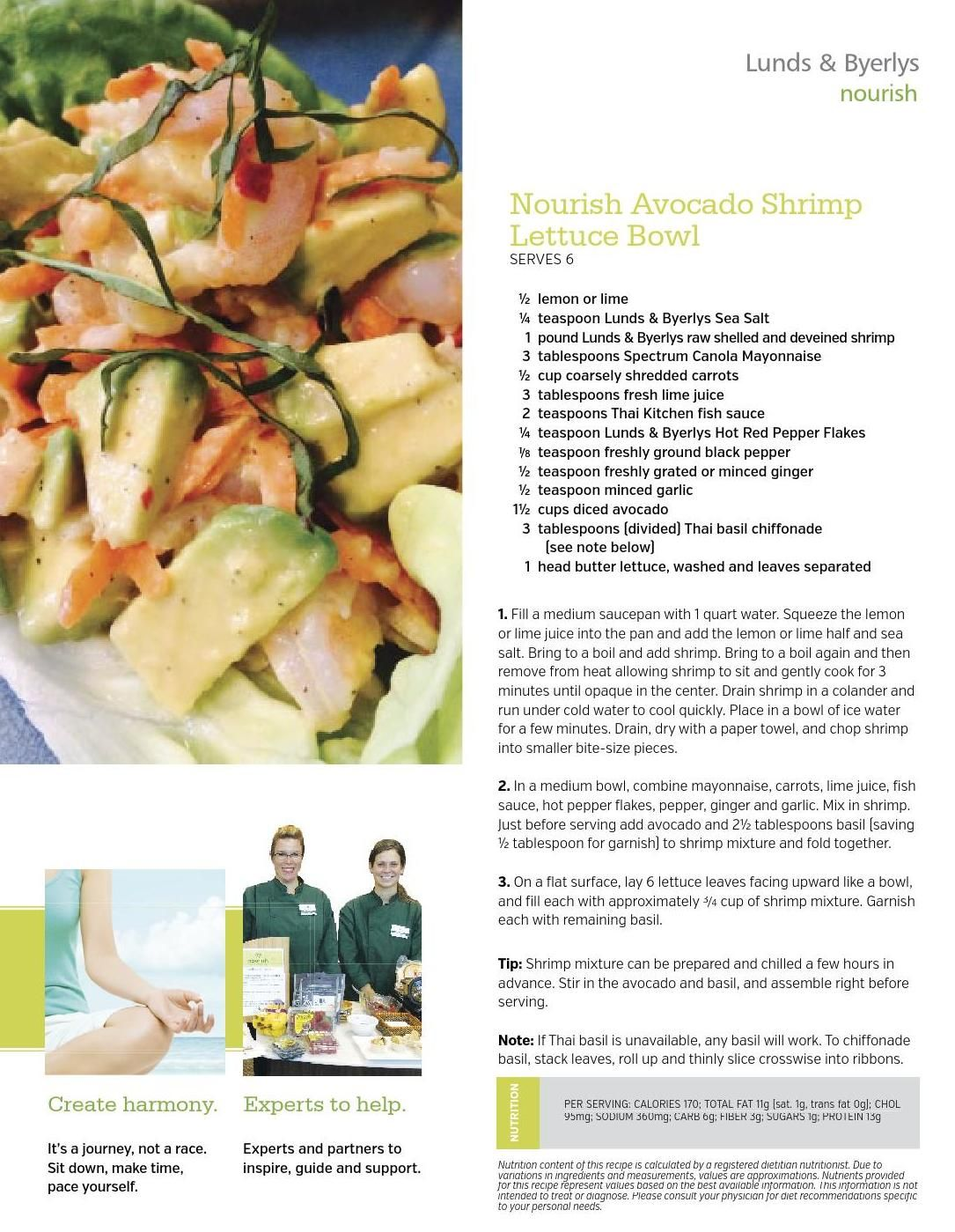 Avocado shrimp lettuce bowl