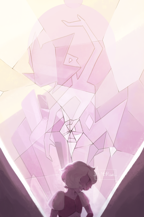 Then Why Don T You Act Like It Pink Pink Diamond Jungle Moon Steven Universe Gem Pink Diamond Steven Universe Steven Universe Fanart