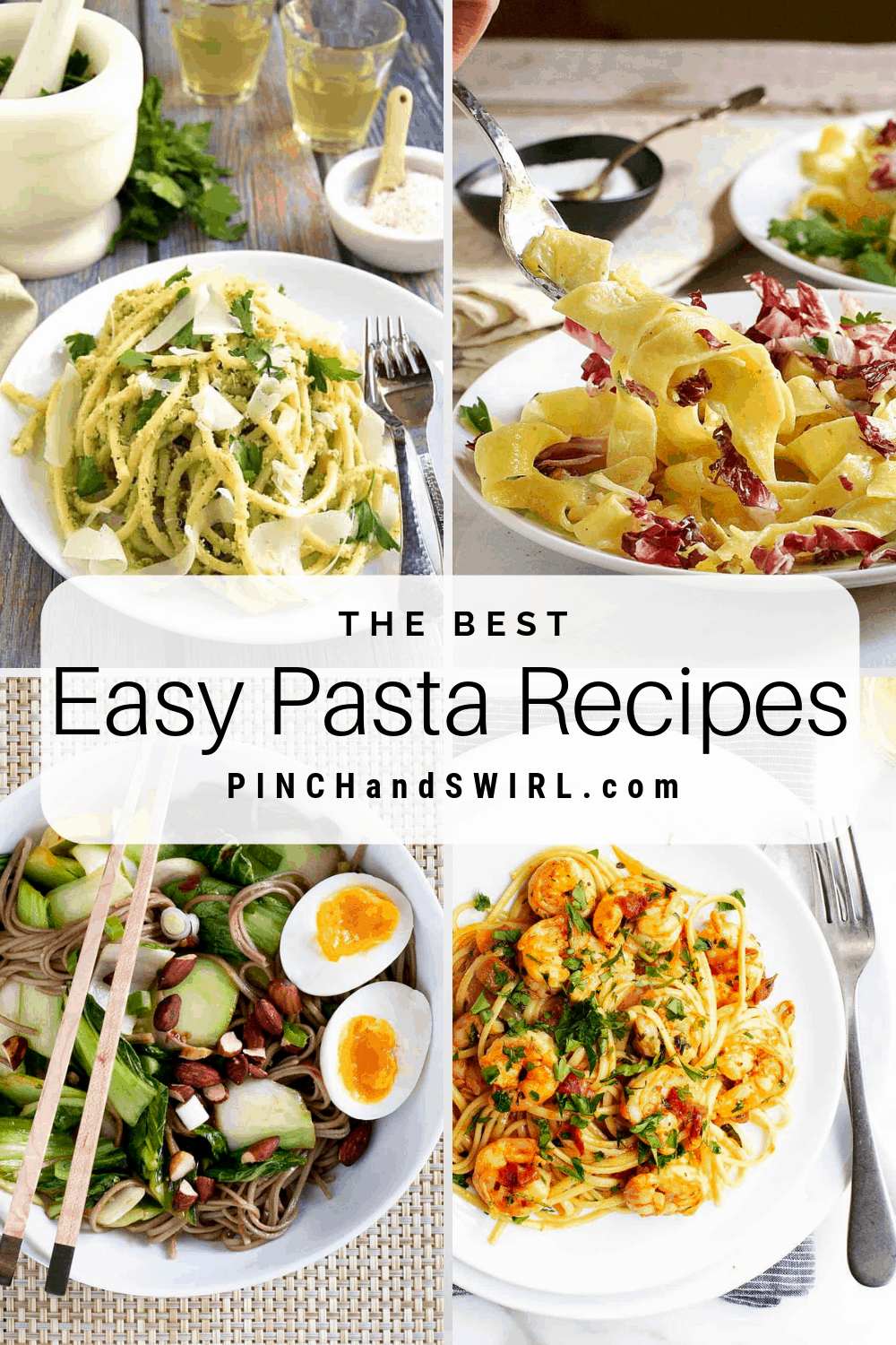 With Just A Few Ingredients You Can Make These Quick And Healthy Pasta Recipes Simple To Prepare And A Wid Easy Pasta Recipes Easy Pasta Italian Recipes Easy