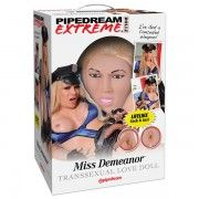 PIPEDREAM EXTREME DOLLZ - MISS DEMEANOR LOVE DOLL  - sex toys perth www.sextoysperth.com.au