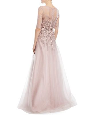cf985dd96540c Rickie Freeman For Teri Jon Beaded Lace   Tulle Gown