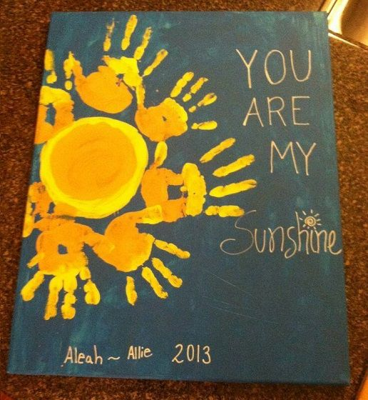 Summer handprint crafts for kids to make craft summer for Do my project