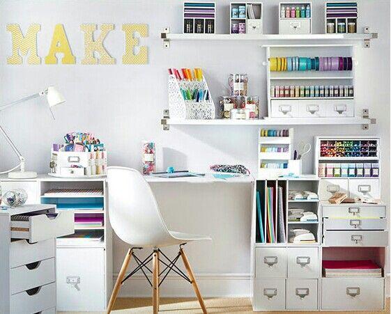 If my extra bedroom looked like this bureau enfant
