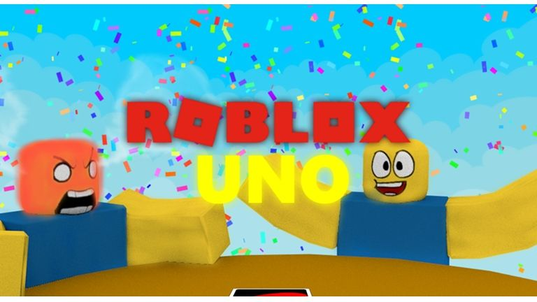 Sit Down Around A Table And Play A Game Of Roblox Uno The 1 Uno