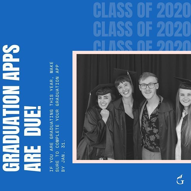CLASS OF 2020 Dont to submit your graduation apps
