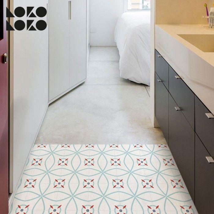 Suelo de azulejos de diseño moderno