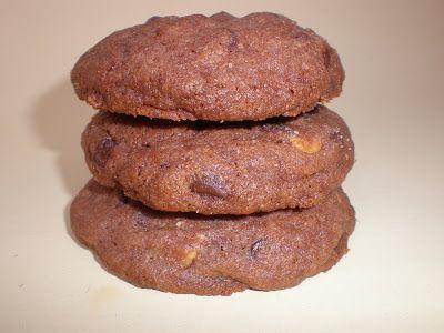 Lola en la cocina: Galletas de chocolate y mantequilla de cacahuete