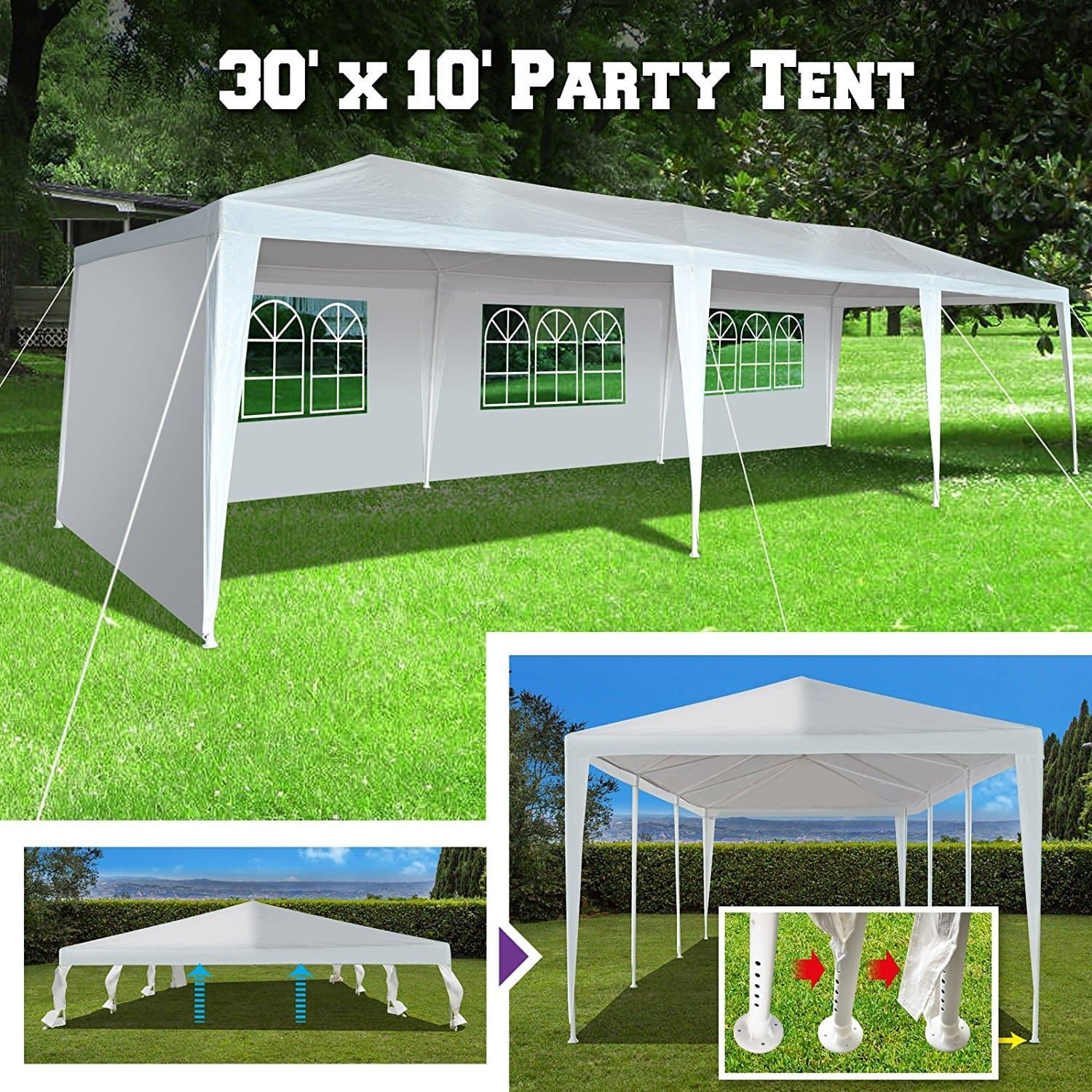 Best Large Party Tents for Outdoor Events Ultimate