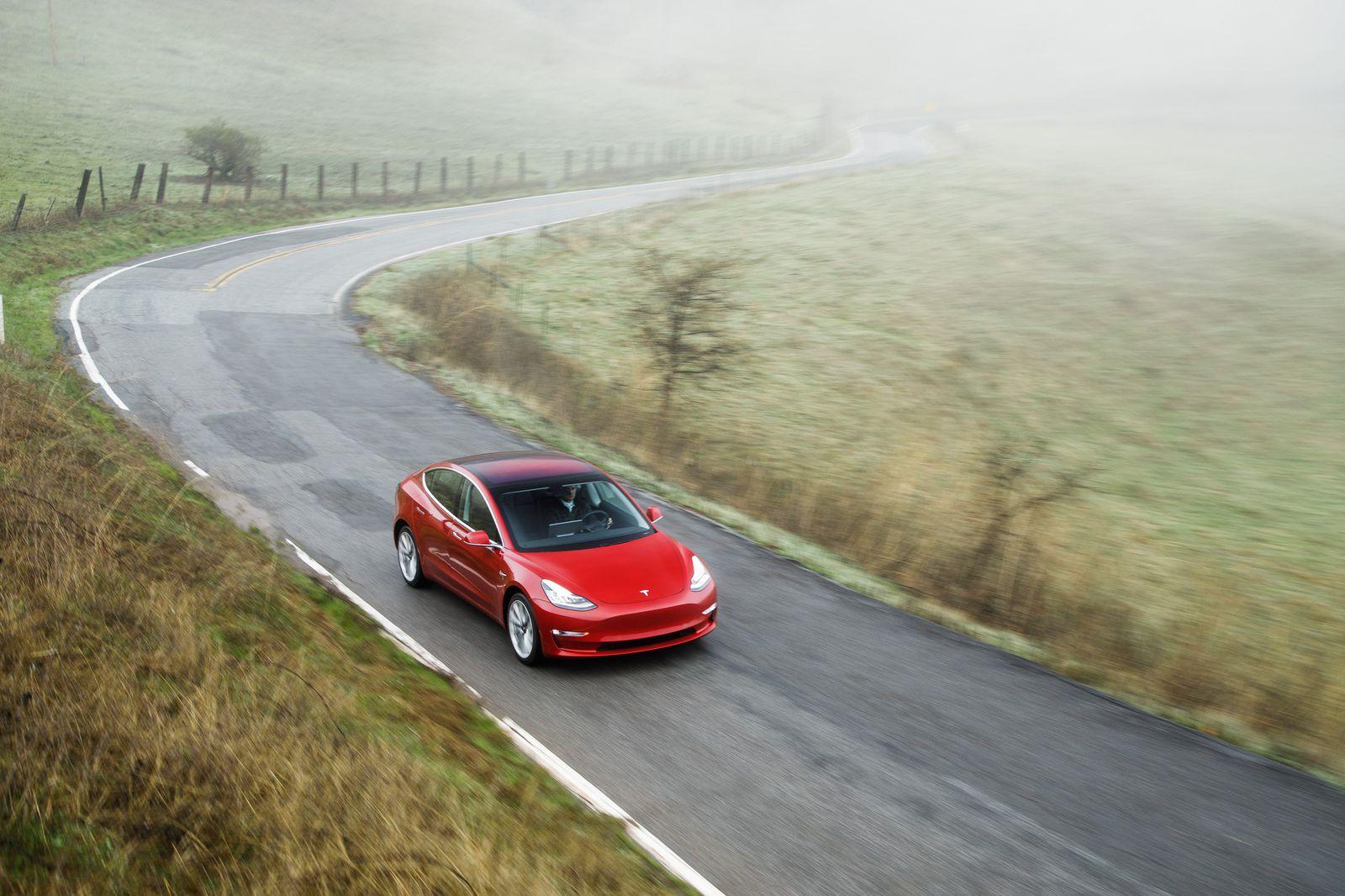 Tesla Model 3: The Road & Track Review   Tesla model ...