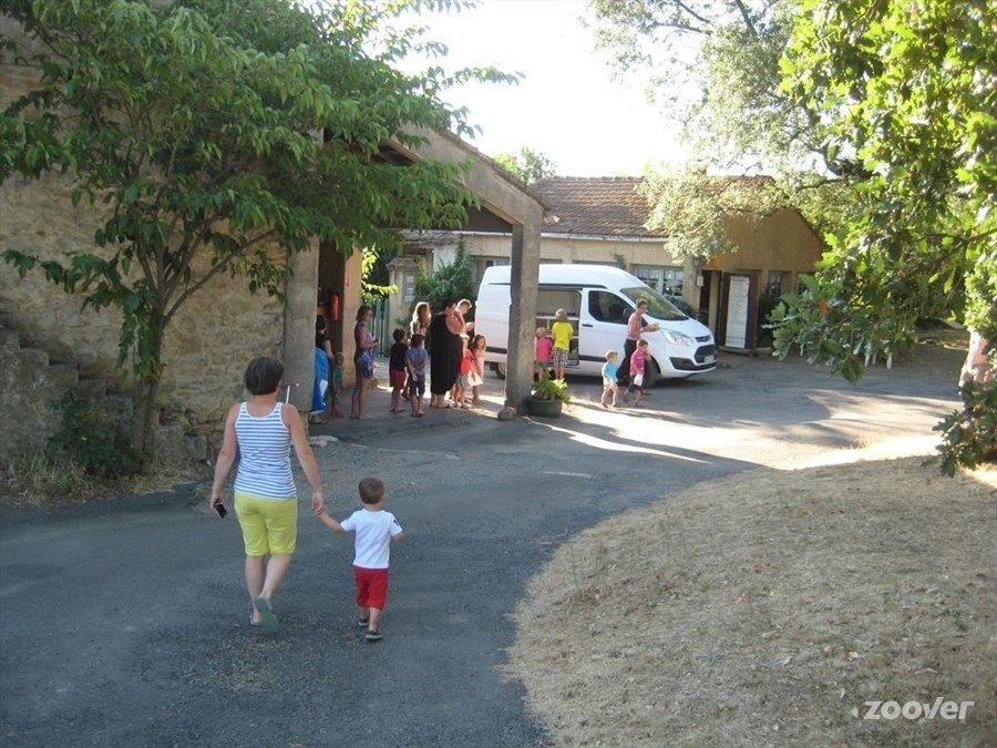 Le boulanger au camping du Mas Cauvy