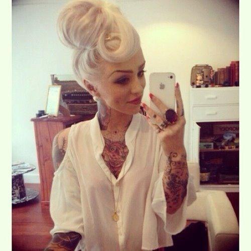 Gorgeous Girl Gorgeous Pinup Hair Rockabilly Pinup Psychobilly 50er Jahre Frisur Frisuren Und Freche Frisuren