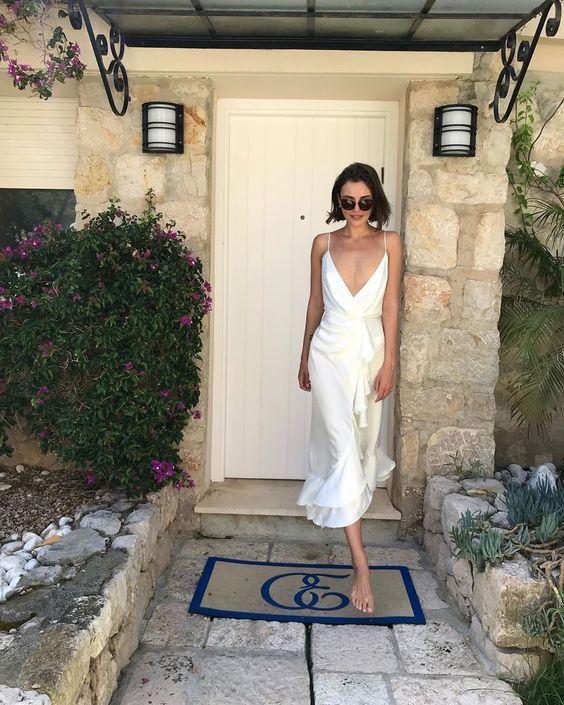 Sommer weißes Kleid   – SPRING SUMMER STYLE