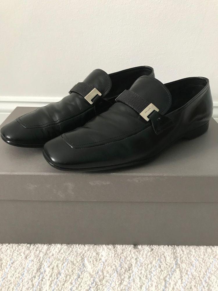 Prada Mens Shoes Sz 6.5 Prada Black