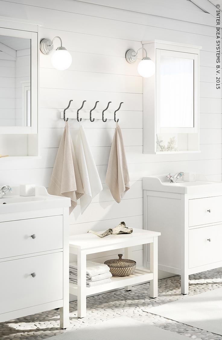 agrandissez l'espace grâce au blanc (série hemnes)   for the home