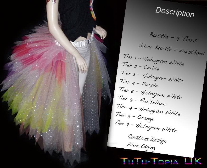 Tulle Bustle For Showgirl Costume Need Help