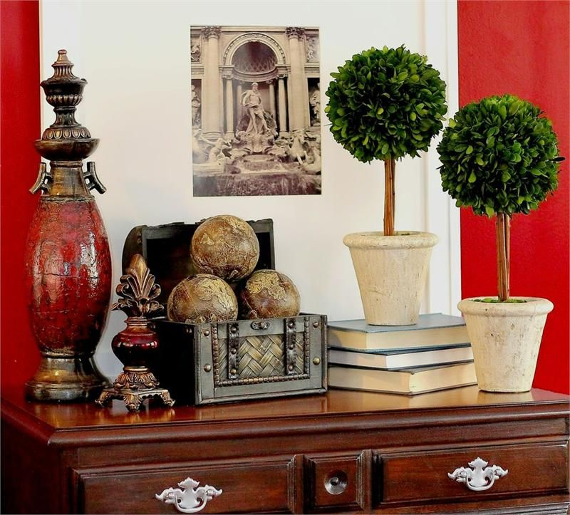 Preserved boxwood single ball topiaries inch also best home decorating ideas images on pinterest in rh