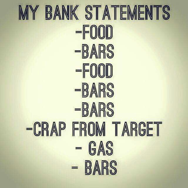 My Bank Statements Sad But True Lol  Lol    Bank