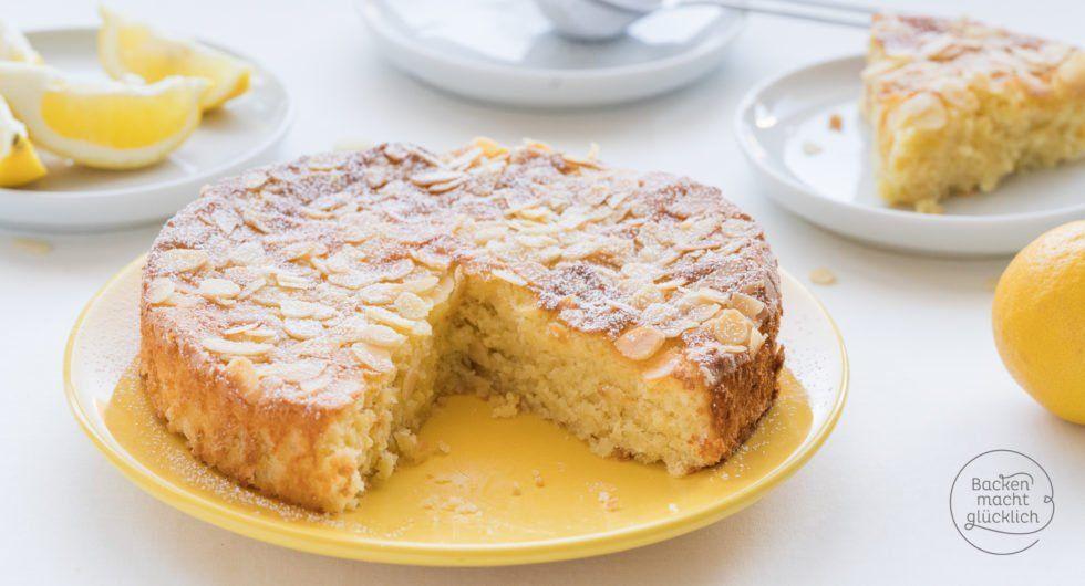 Saftiger Zitronen Mandel Kuchen Ohne Mehl Backen Macht Glucklich Rezept Kuchen Ohne Mehl Zitronen Kuchen Backen Ohne Mehl