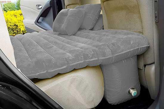 17 matratze f r die r cksitzbank zum aufpumpen an alle autofahrer oder menschen die ihr auto. Black Bedroom Furniture Sets. Home Design Ideas