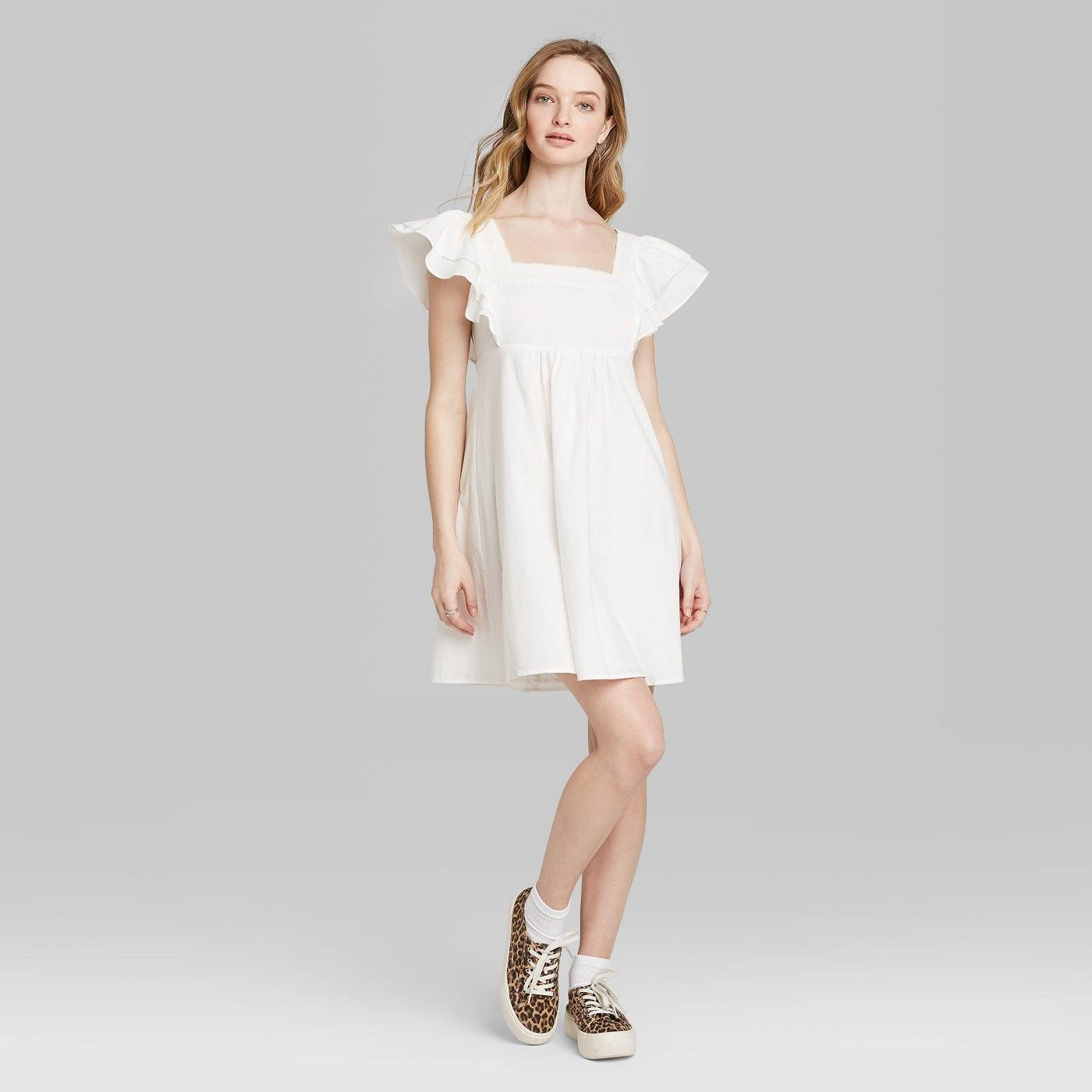 Wild Fable White Gown
