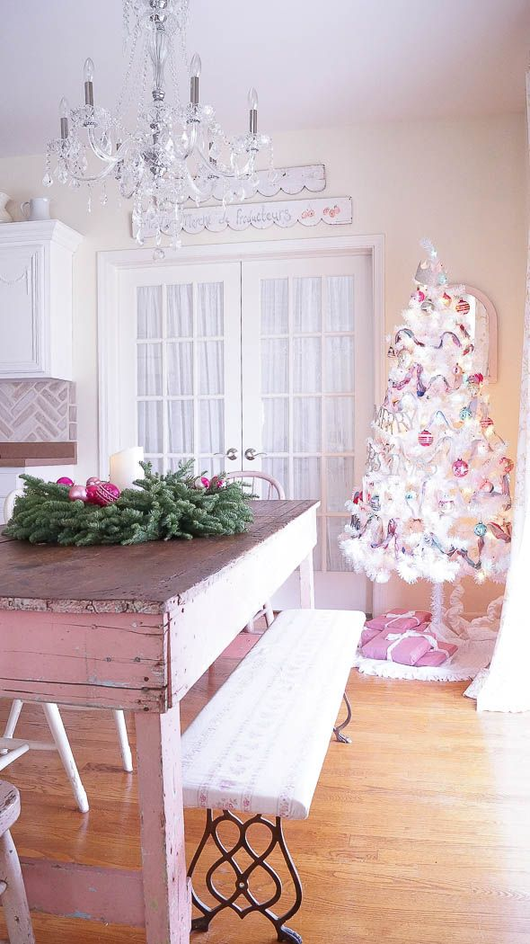 I Think I\u0027m Ready For Christmas - White Lace Cottage bHome - christmas home decor