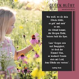 Über glück gedichte das GLÜCK