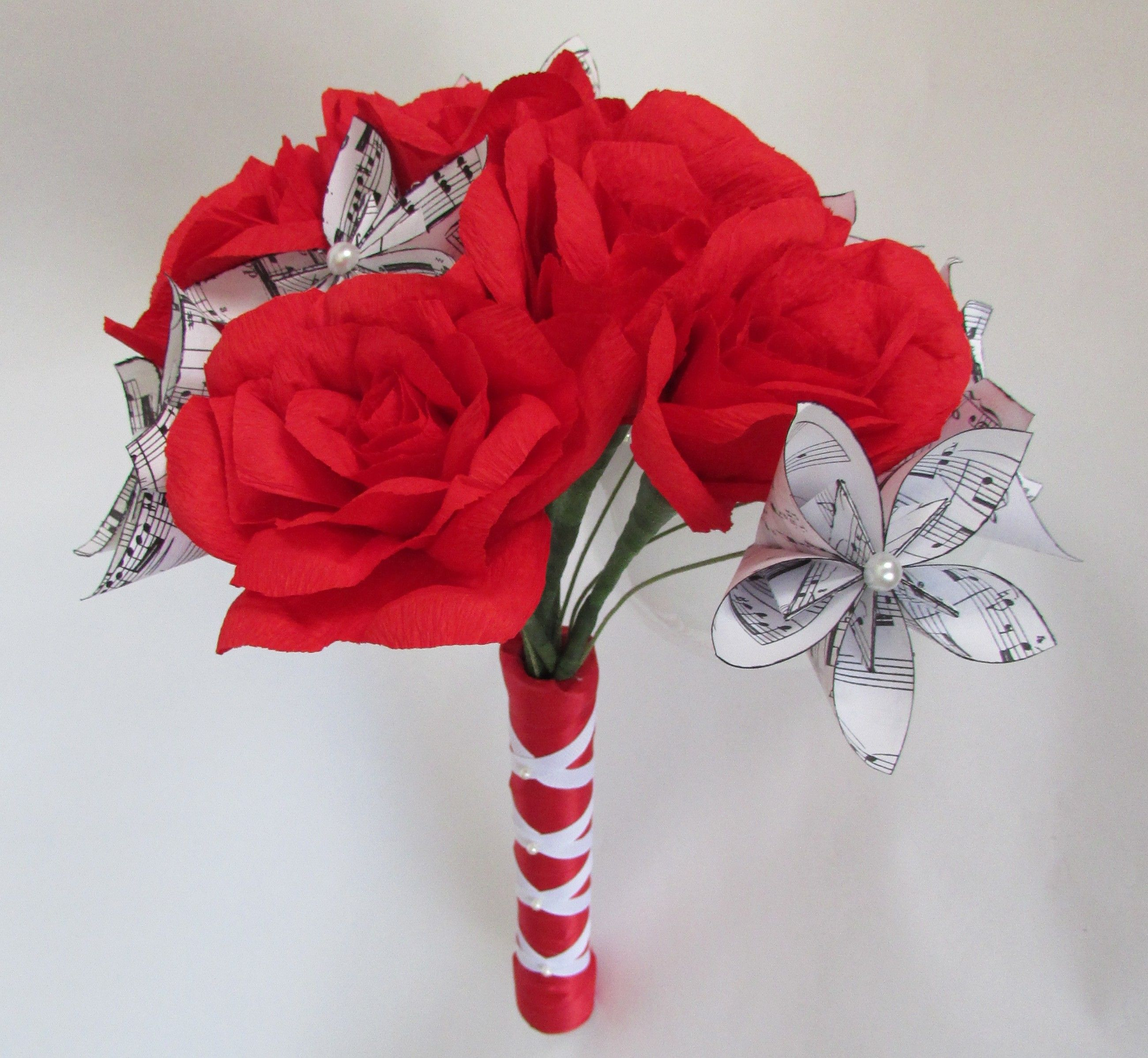 Sheet music red roses bouquet paper flower bouquet paper bouquet sheet music red roses bouquet paper flower bouquet paper bouquet rose bouquet izmirmasajfo