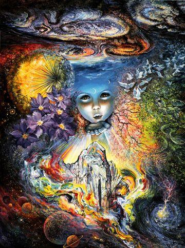 Josephine Wall Art josephine wall fairy art | fairies treasures - friendship greeting