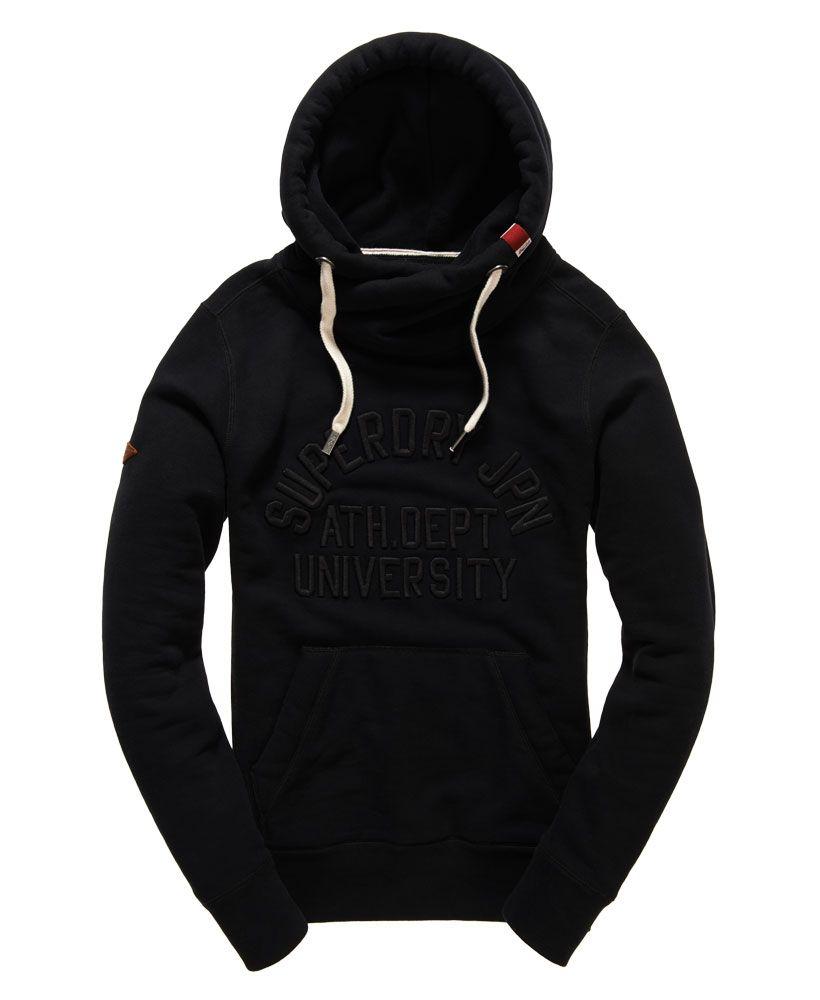 d3e8eee251b7 Superdry - Sweat à capuche à motif appliqué Crossover Core - Sweats à  capuche pour Homme
