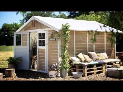 Gartenhaus selber bauen aus Holz / Holzhütte aufbauen