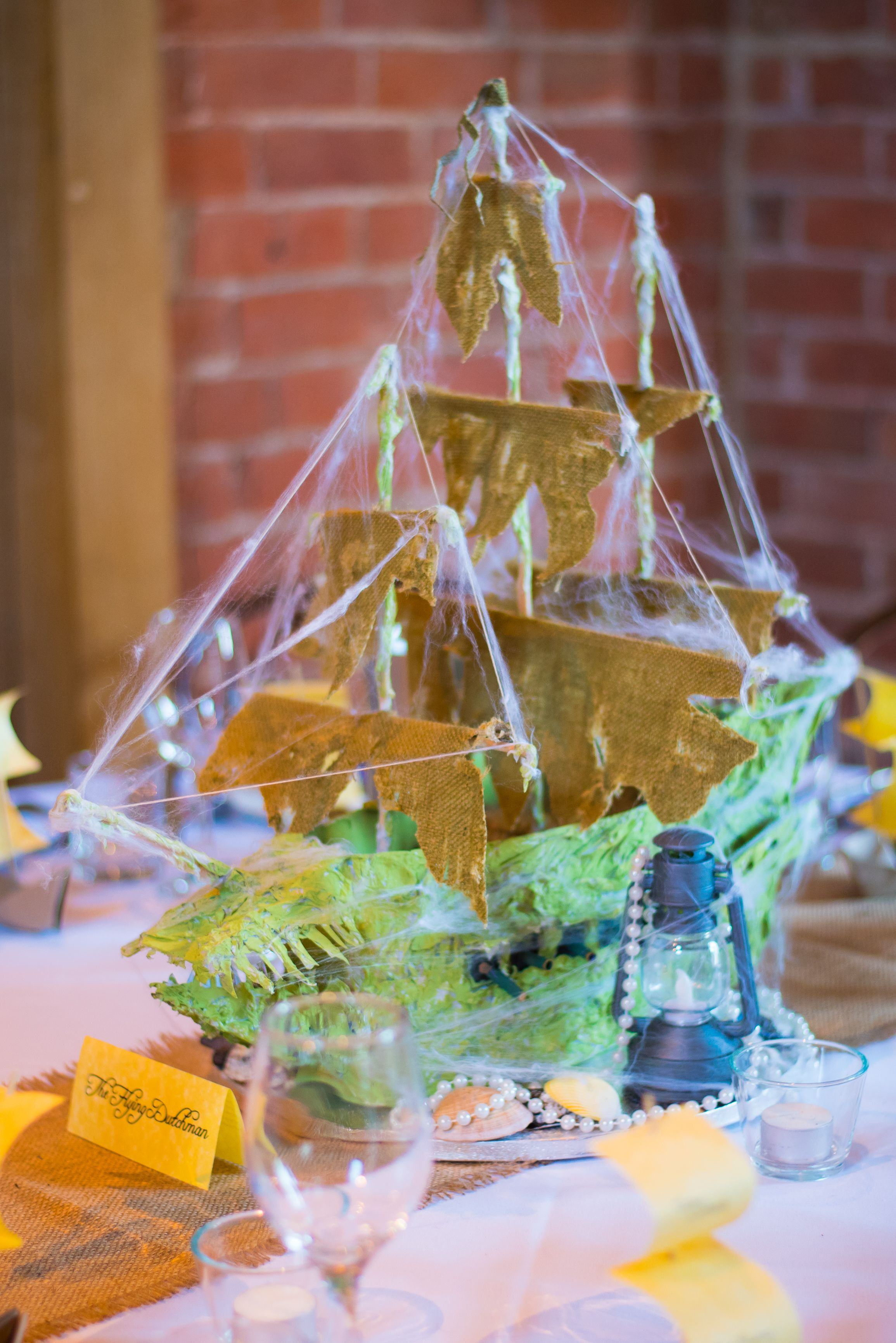 Pirate theme centrepiece wedding decoration the flying dutchman pirate theme centrepiece wedding decoration the flying dutchman pirate wedding centrepiece junglespirit Image collections
