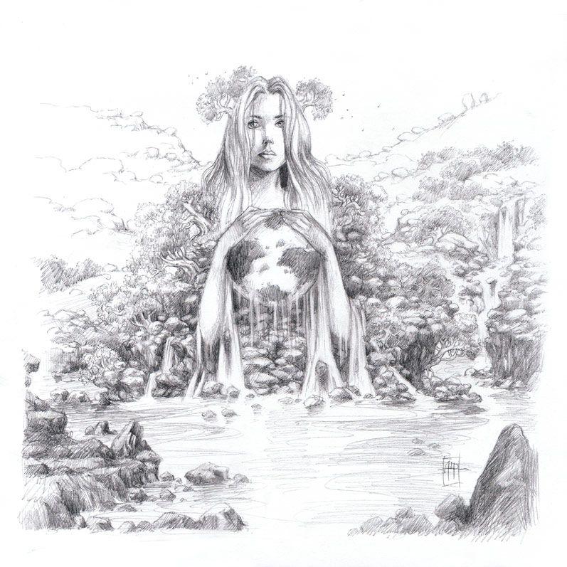 mother earth drawing earth drawings mother earth