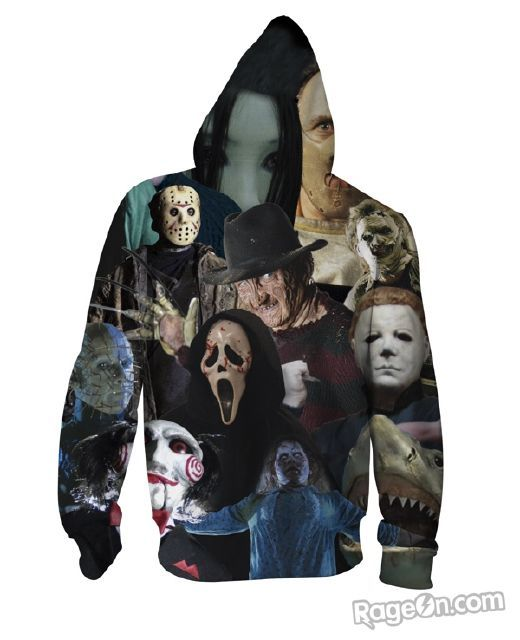 ab93f6e179d8 horror hoodie | Horror Movies in 2019 | Hoodies, Zombie clothes ...