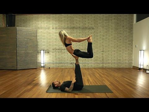 beginner acro yoga class free with dylan werner yoga