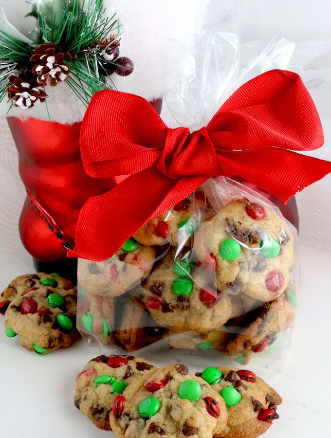 Christmas M M Mini Cookies