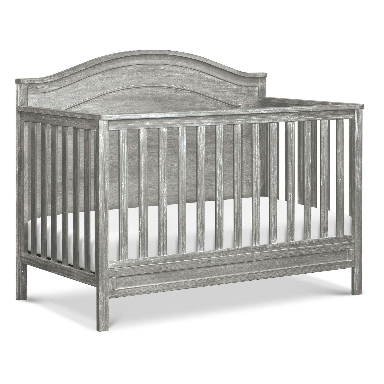 DaVinci Charlie 4 in 1 Convertible Crib Cottage Grey
