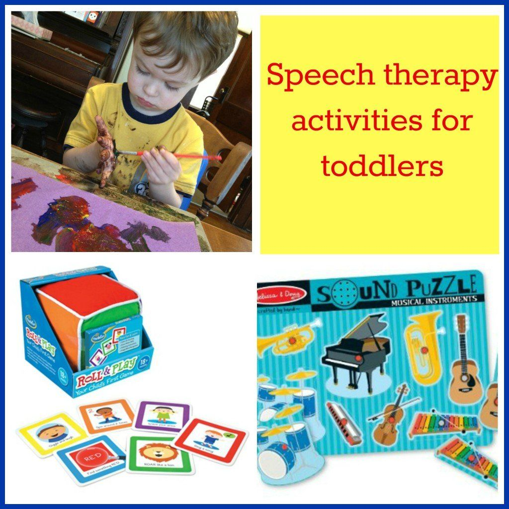 Easy Fun Speech Therapy Activities For Toddlers Speech Therapy