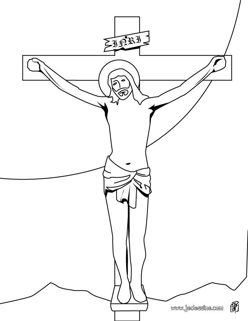 jesus christ sur la croix | bricolage | Pinterest