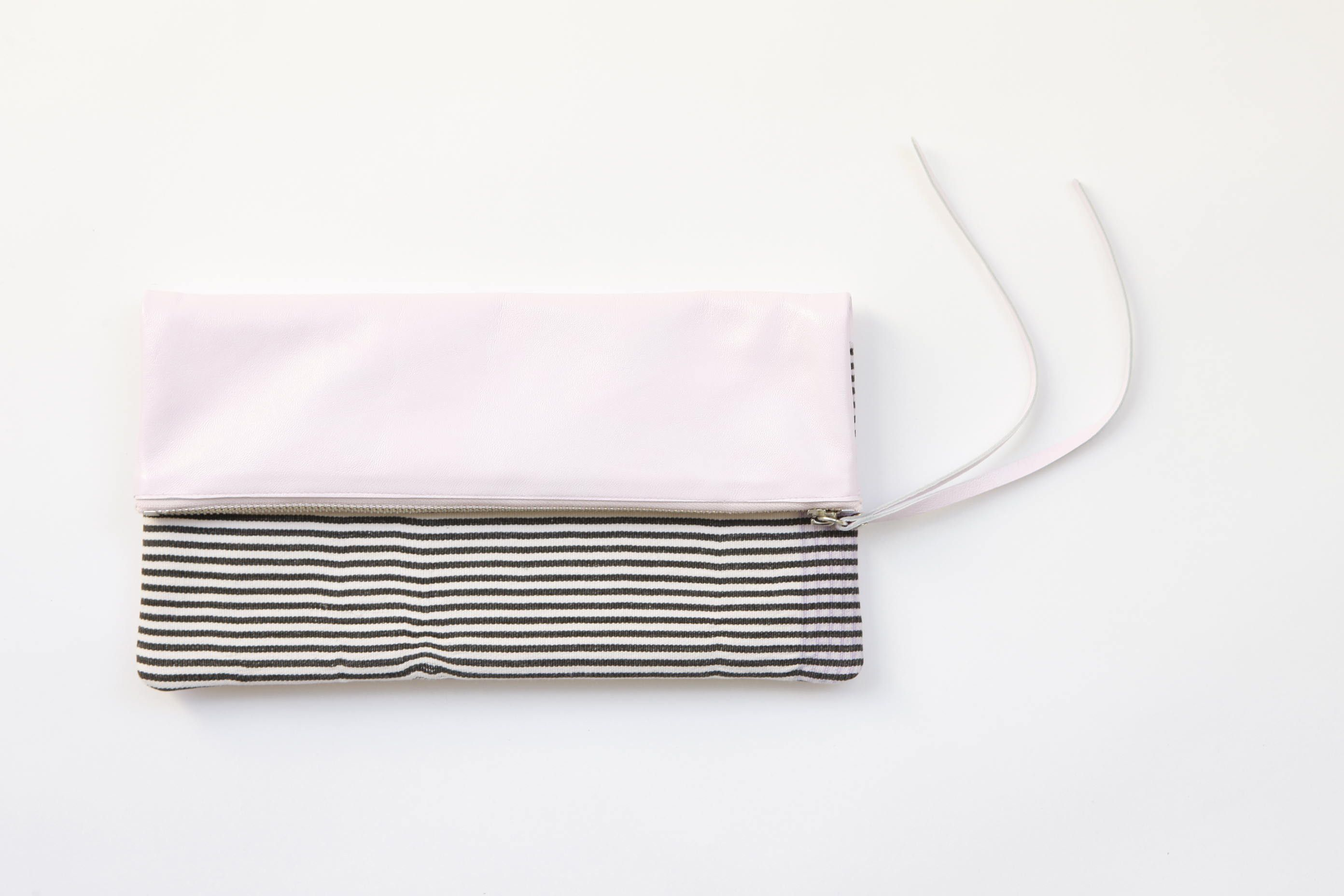 Gorgeous lilac and striped vintage 'Aissata' clutch in Kate Watson Smyth's @GREAT.LY boutique