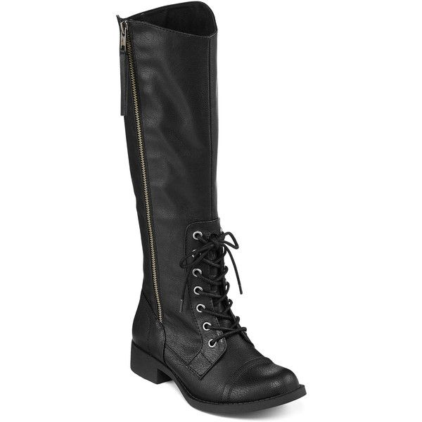 K9 by Rocket Dog Cabernet Side-Zip Womens Boots (210 PEN) ❤ liked
