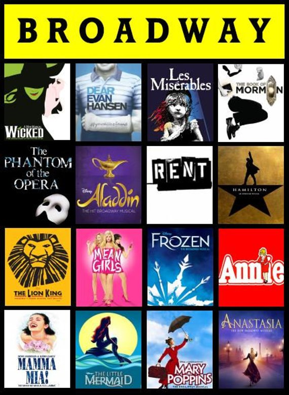 Pin by Makayla Clark on Broadway Shows (With images) | Custom blanket gift,  Broadway shows, Musicals
