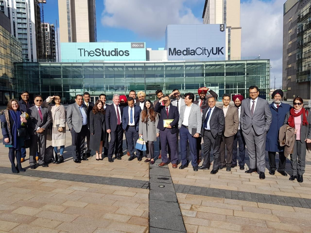 Chandigarh It Ceo Delegation Visits Manchester City On Day 1 With Images Visit Manchester Manchester City Delegation
