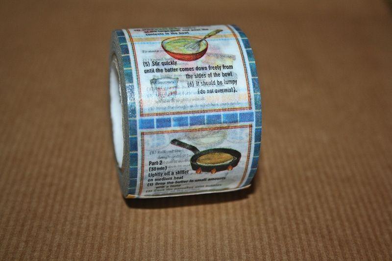 Recipe Washi Tape