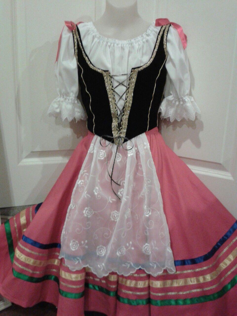 1abfe5e05 Tarantella costume by Margaret Shore   Ballet costumes and Tutus ...